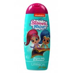 Uroda for Kids Żel pod prysznic 2w1 dla dzieci Shimmer Shine  250ml