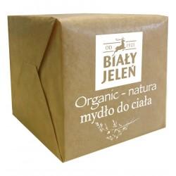Biały Jeleń Organic-Natura Mydło do ciała - kostka  170g