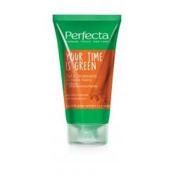 Perfecta Your Time Is Green Żel z drobinkami do mycia twarzy przeciw niedoskonałościom  150ml