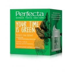 Perfecta Your Time Is Green Krem na dzień przeciw niedoskonałościom  50ml
