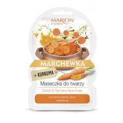 Marion Fit & Fresh Maseczka do twarzy Marchewka+Kurkuma  9g