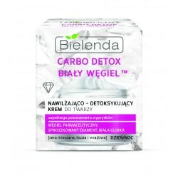 Bielenda Carbo Detox Biały Węgiel Krem nawilżająco-detoksykujący na dzień i noc  50ml