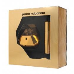 Paco Rabanne Lady Million Zestaw prezentowy (woda toaletowa 50ml+woda toaletowa mini 10ml)