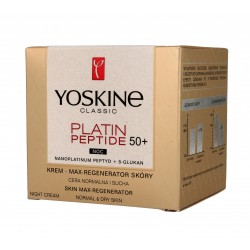Yoskine Classic Platin Peptide 50+ Krem Max-regenerator skóry na noc 50ml