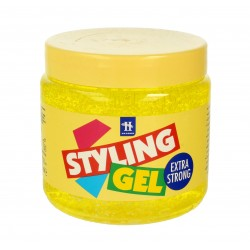 Hegron Styling Żel do modelowania włosów extra strong żółty  1000ml