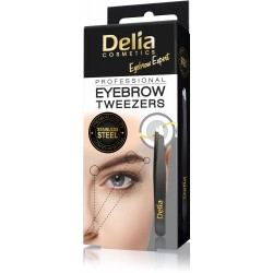 Delia Cosmetics Eyebrow Expert Pęseta do brwi  1szt