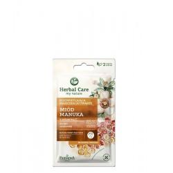 Farmona Herbal Care Maseczka rozświetlająca do twarzy Miód Manuka  2 x 5ml
