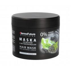 Dermofuture Precision Aktywny Węgiel Maska do włosów  300g