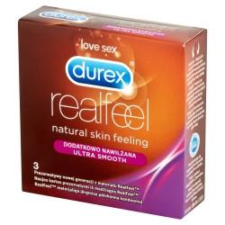 Durex Prezerwatywy Real Feel 3szt