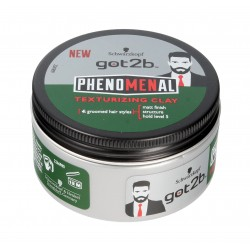 Schwarzkopf Got2b Phenomenal Pasta Texture Clay do układania włosów  100ml