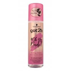 Schwarzkopf Got2b #Oh My Nude! Spray do włosów Silky Done  200ml