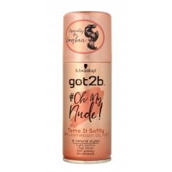 Schwarzkopf Got2b #Oh My Nude! Suchy Olejek do włosów w sprayu Tame It Softly  100ml