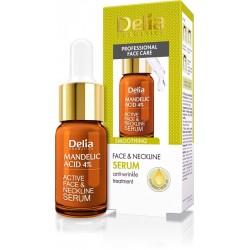 Delia Cosmetics Professional Face Care Serum wygładzające z kwasem migdałowym 4%  10ml