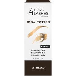 Long 4 Lashes Brow Tattoo Preparat żelowy do brwi 24H  Espresso  8ml