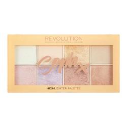 Makeup Revolution Soph Highlighter Palette Zestaw rozświetlaczy