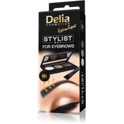 Delia Cosmetics Eyebrow Expert Zestaw do stylizacji brwi  1szt