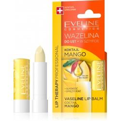 Eveline Lip Therapy Wazelina do ust w sztyfcie wygładzająca Koktajl Mango  1szt
