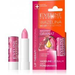 Eveline Lip Therapy Wazelina do ust w sztyfcie nawilżająca Soczysty Granat