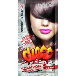 Marion Szampon koloryzujący Gloss nr 40 Gorzkie Kakao  40ml