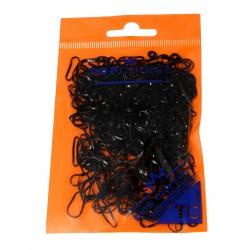 Top Choice Gumki do upinania włosów czarne (22722)  1 op.-500szt