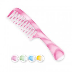 Top Choice Grzebień do włosów Colour - mix kolorów (60427)  1szt