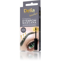 Delia Cosmetics Eyebrow Expert Kremowa mascara do brwi Graphite  4ml