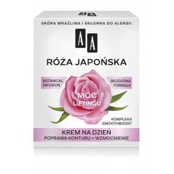 "AA Moc Roślin Róża Japońska 60+ Krem na dzień ""Moc Liftingu""  50ml"