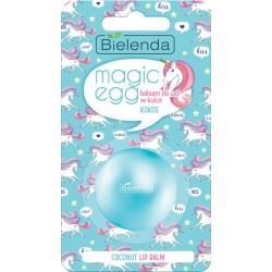 Bielenda Magic Egg Balsam do ust w kulce Kokos  8.5g