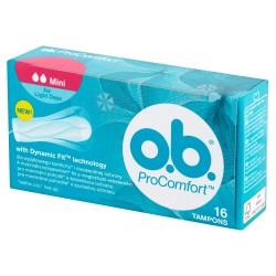 O.B.ProComfort Mini komfortowe tampony 1op.- 16szt