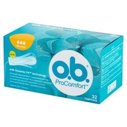 O.B.ProComfort Normal komfortowe tampony 1 op.-32szt