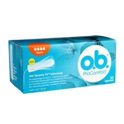 O.B.ProComfort Super komfortowe tampony 1 op.-32szt