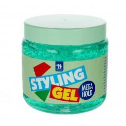 Hegron Styling Żel do modelowania włosów mega hold zielony  1000ml