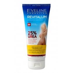 Eveline Revitalum 25% Urea Krem-kompres regenerujący 8w1 na pękające pięty 100ml