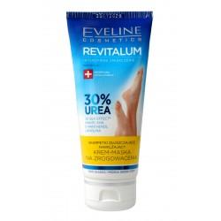 Eveline Revitalum 30% Urea Krem-maska na zrogowacenia-skarpetki złuszczające 100ml