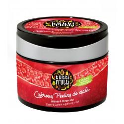 Farmona Tutti Frutti Peeling do ciała cukrowy Wiśnia & Porzeczka  300g
