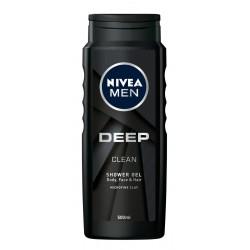 Nivea Men Żel pod prysznic Deep Clean  500ml