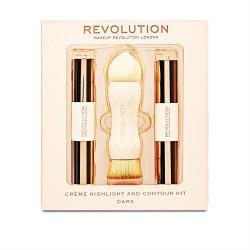 Makeup Revolution Creme Zestaw do konturowania Dark  1op.
