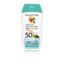 Kolastyna Opalanie Emulsja do opalania dla dzieci SPF50  150ml
