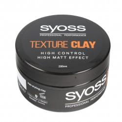 Schwarzkopf Syoss Glinka do włosów silnie matująca Texture Clay  100ml