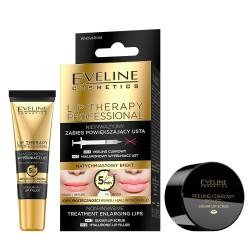 Eveline Lip Therapy Nieinwazyjny zabieg powiększający usta DUO  1op.-(peeling 7ml+wypełniacz 12ml)