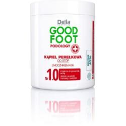 Delia Cosmetics Good Foot Podology Nr 1.0 Kąpiel perełkowa do stóp 45% mocznika  200g