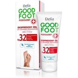 Delia Cosmetics Good Foot Podology Nr 3.2 Ekspresowy żel do usuwania zrogowaceń  60ml