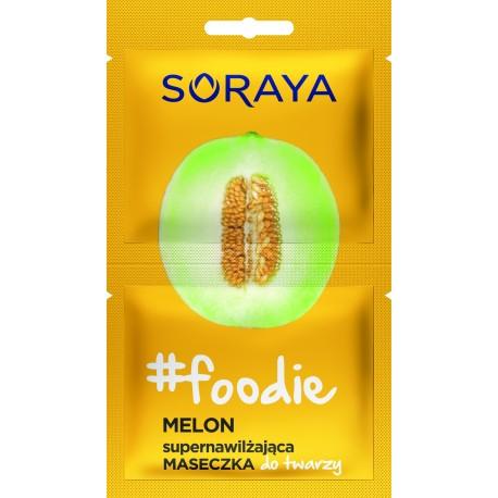 Soraya Foodie Melon Supernawilżająca Maseczka do twarzy  5mlx2