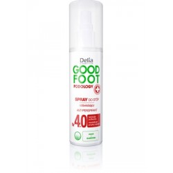 Delia Cosmetics Good Foot Podology Nr 4.0 Spray do stóp odświeżający  100ml
