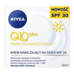 Nivea Q10 Plus C Krem przeciwzmarszczkowy nawilżający na dzień SPF30  50ml
