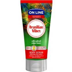 On Line Senses Peeling do ciała Brasilian Vibes  200ml