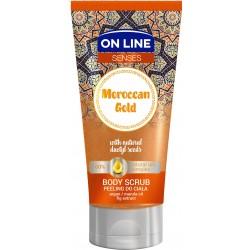 On Line Senses Peeling do ciała Moroccan Gold  200ml