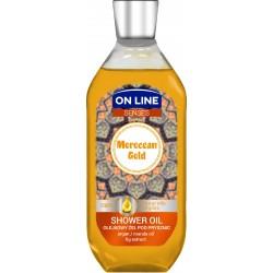On Line Senses Olejkowy Żel pod prysznic Moroccan Gold  500ml