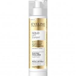 Eveline Gold Lift Expert Luksusowe Odżywcze Mleczko micelarne do demakijażu  200ml