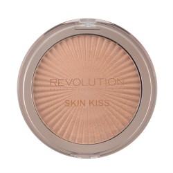 Makeup Revolution Rozświetlacz do twarzy Retro Skin Kiss Rose Gold Kiss, 14 g